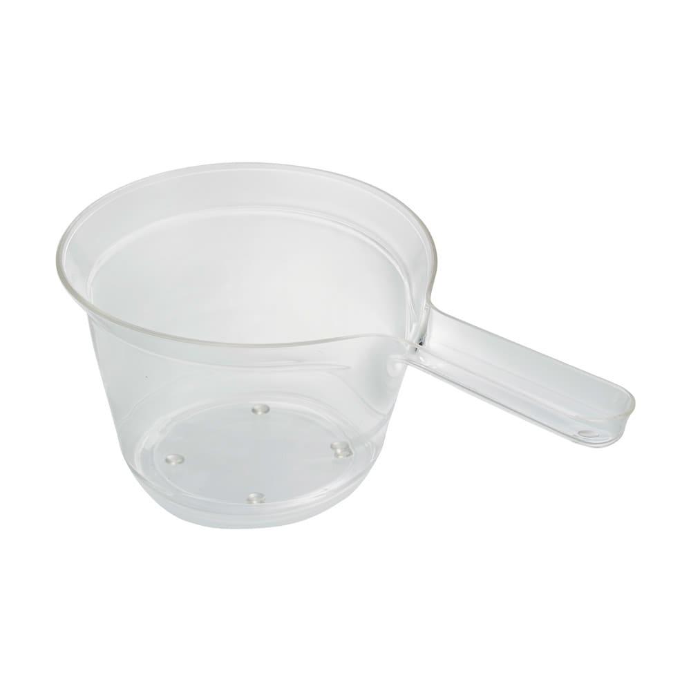 アクリル製 手湯桶 (ア)クリア