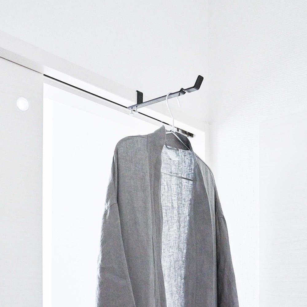 tower/タワー ランドリー室内干しハンガー 帰宅後の衣類掛けとしても。