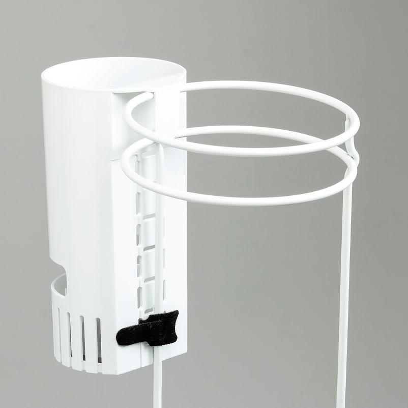 karariフック式折りたたみ傘ホルダー1本用 付属のバンドでしっかり固定できます。