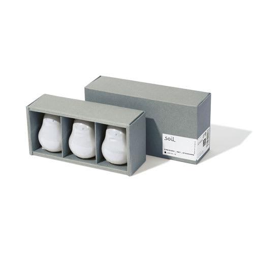 玄関や下駄箱の湿気・臭い対策に! SOIL 調湿脱臭剤 フレッシェン3個セット  調湿しながら消臭する愛らしいキャラクターデザインの脱臭剤です。