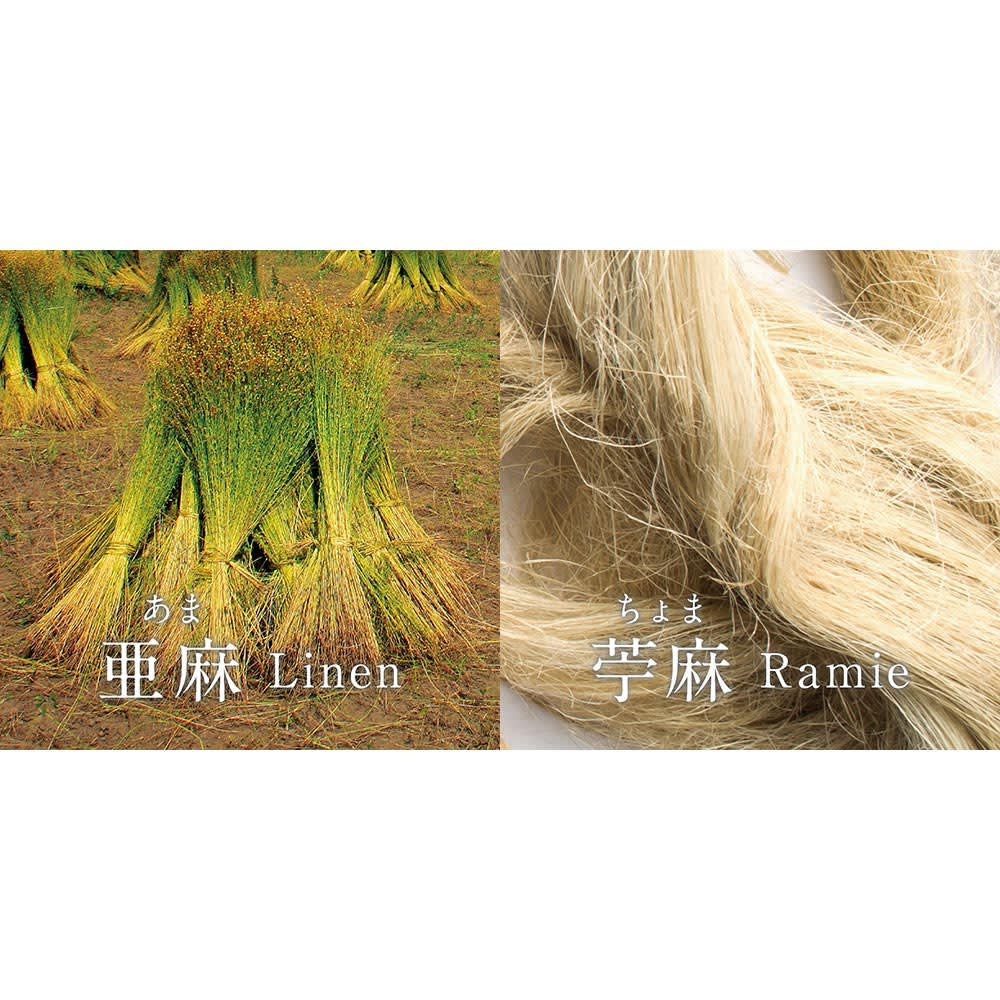 季ノ布 麻のシャリ感 風薫る皐月シリーズ 洗える麻敷きパッド 麻本来の質感を活かしたリネンとラミーの交織。
