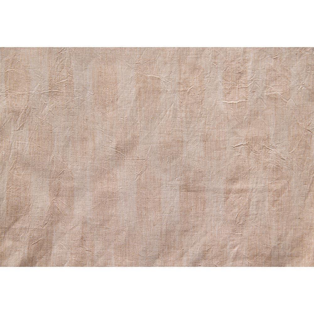 季ノ布 しなやか涼感 風の便り 洗える麻肌掛けふとん シングルサイズ 生地アップ(イ)ベージュ