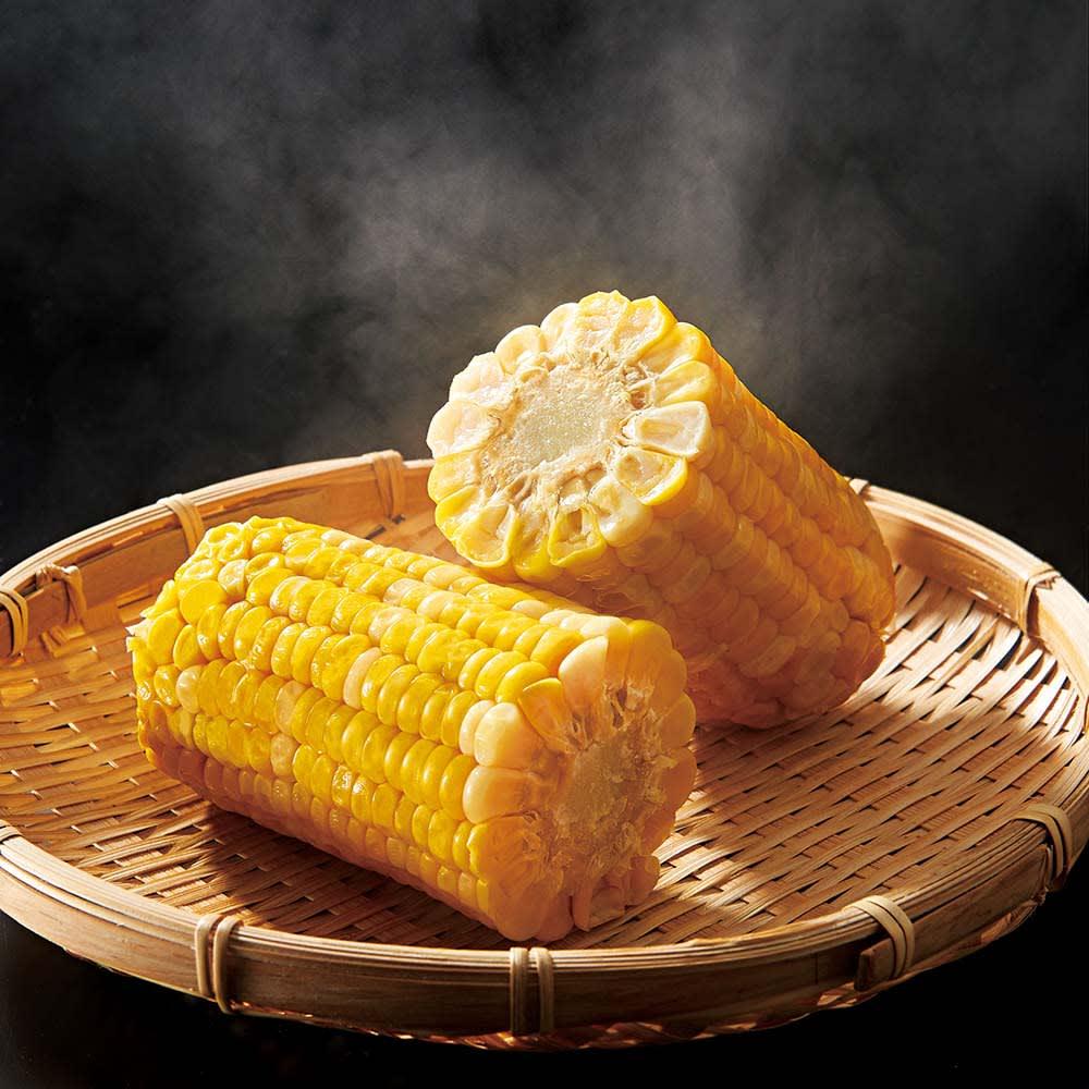 ベジホクちゃんロング・ショート各8枚入り 少し面倒な茹でたトウモロコシも、袋に入れるだけで簡単に!