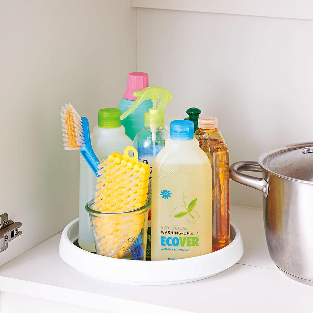 冷蔵庫の回転台 マワリーナ2個組 食品以外でも、洗面回りにも大活躍!