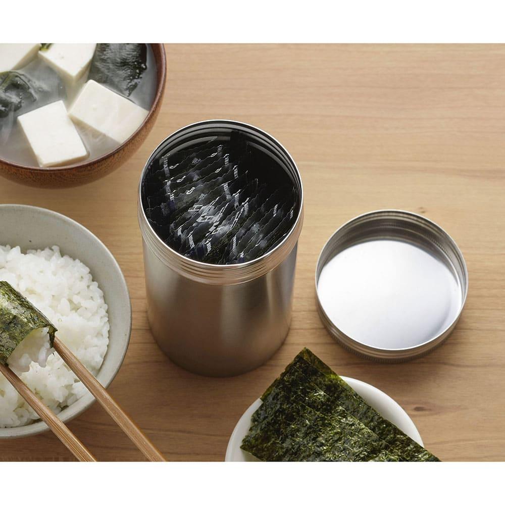 家事問屋 保存缶14 味付き海苔などを入れても。