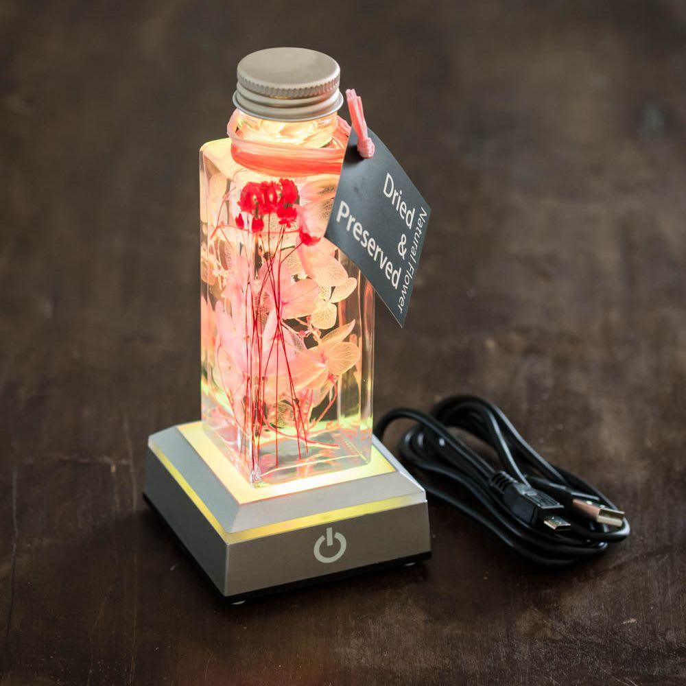 ハーバリウム用LED台