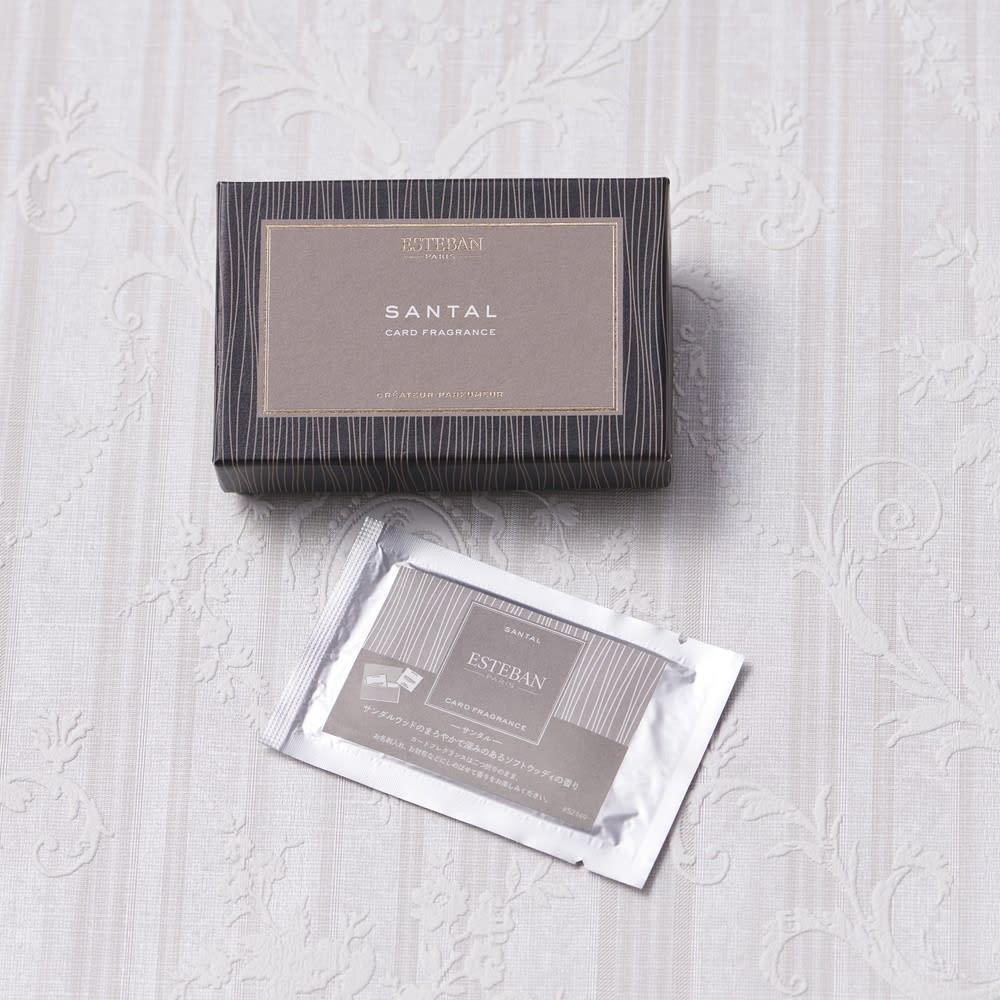 ESTEBAN カードフレグランス (カ)サンタル