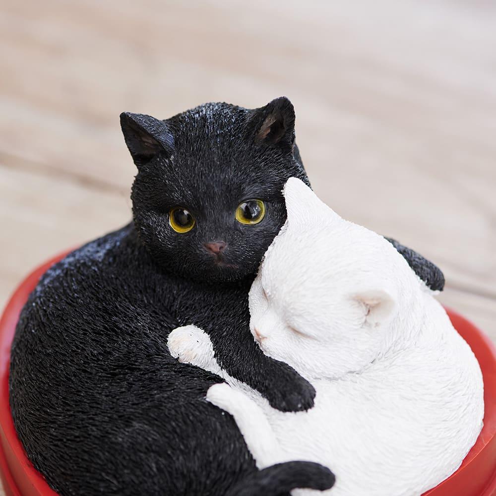 ハートフルキャット&ミニリースセット 何とも愛らしい表情です