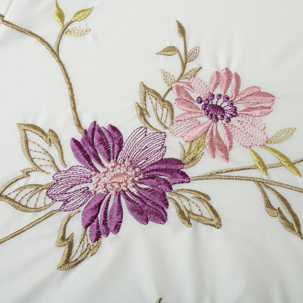 晴雨兼用 二重張り折り畳みミニ日傘 ハチドリ アートのような繊細な刺しゅう