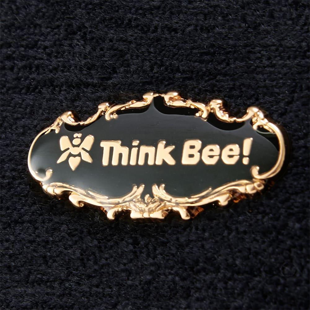 Think Bee!トートバッグ オーバーザレインボー 高級感のあるブランドロゴ付