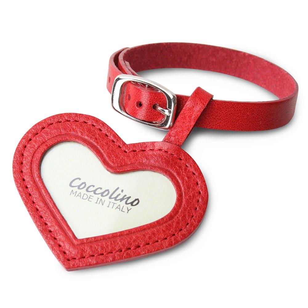コッコリーノ【Coccolino】 ワンチョA ネーム彫付き ステージ付き フルセット ハート・レッド