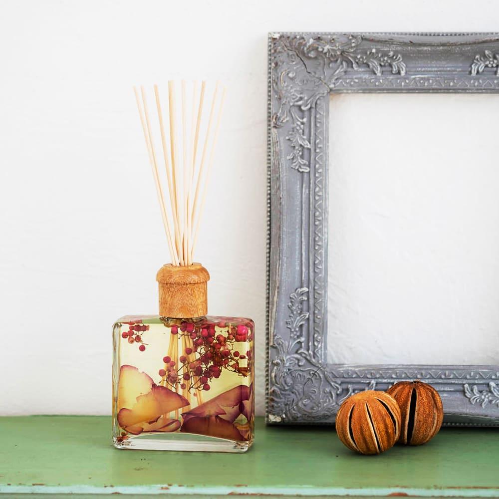 ROSY RINGS ボタニカルディフューザー アプリコット&ローズ アプリコット&ローズのフルーティな甘い香りが広がります