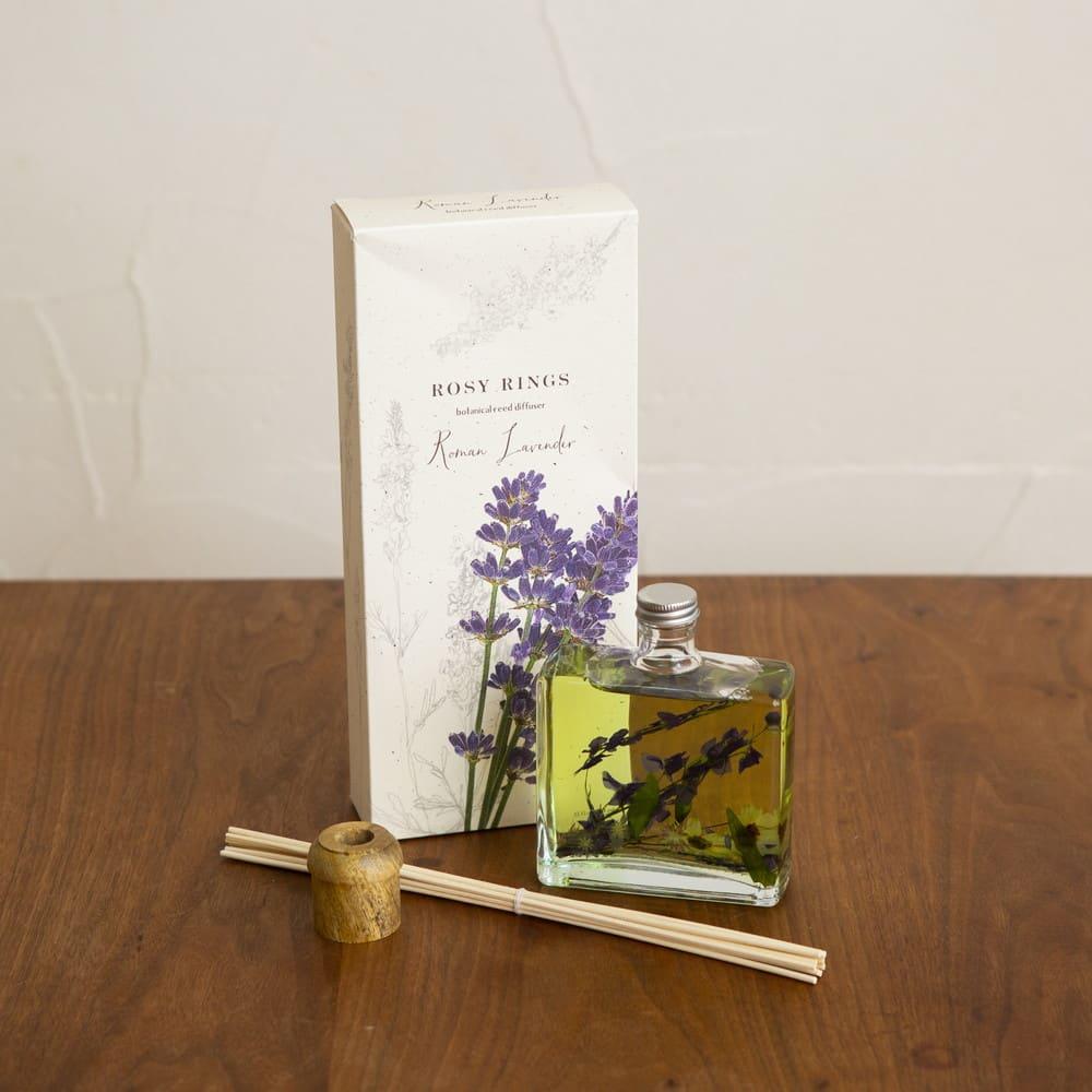 ROSY RINGS ディフューザー ロマンラベンダー ラベンダーとベルガモット+バニラの優しい香りがお部屋に広がります