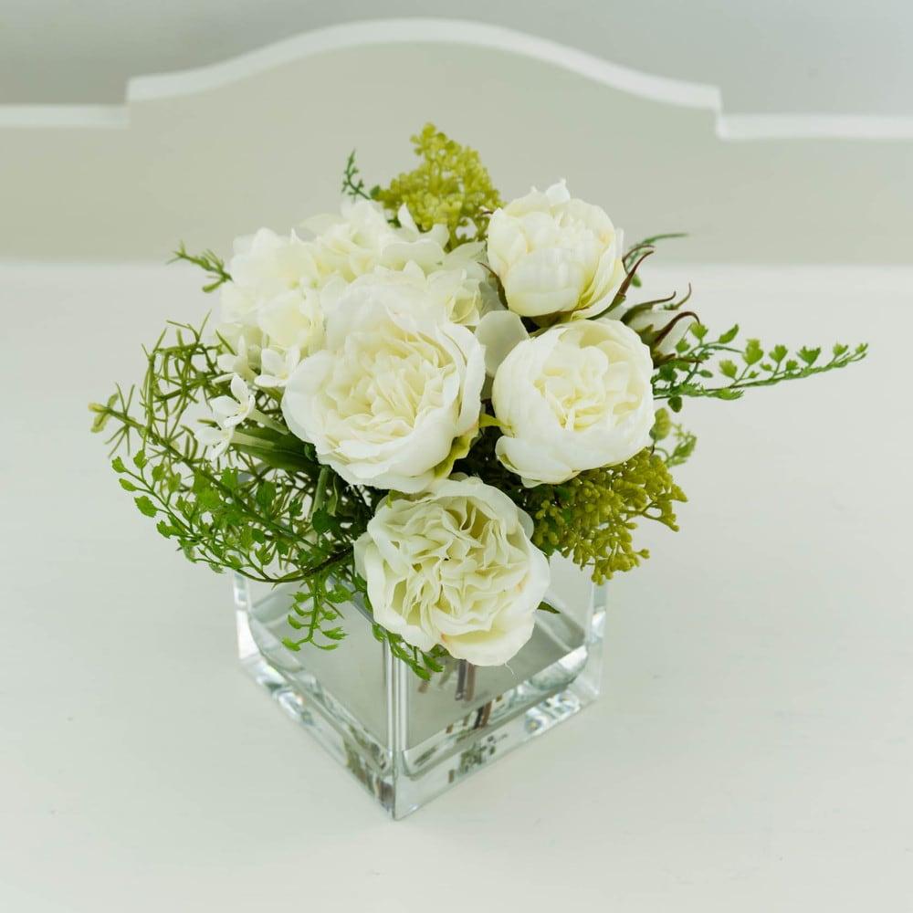 ローズマジックウォーターアレンジメント 小花もあえてグリーン系でフレッシュに!お部屋が明るくなります