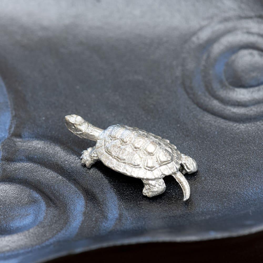 雫影(しずか)かたかごセット 亀・蛙パーツは錫製なので夏場の花器にはピッタリ