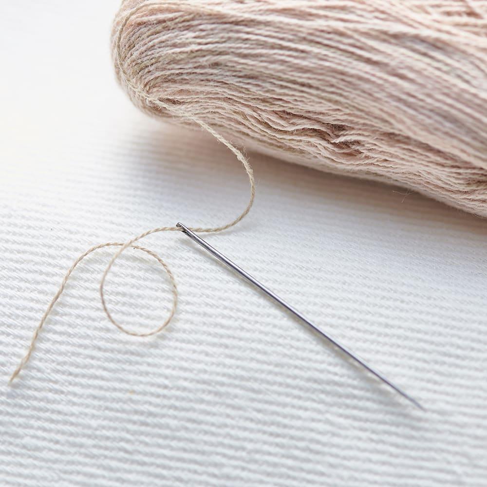 Cohana さくらの手まりの六角小箱 刺しゅう糸