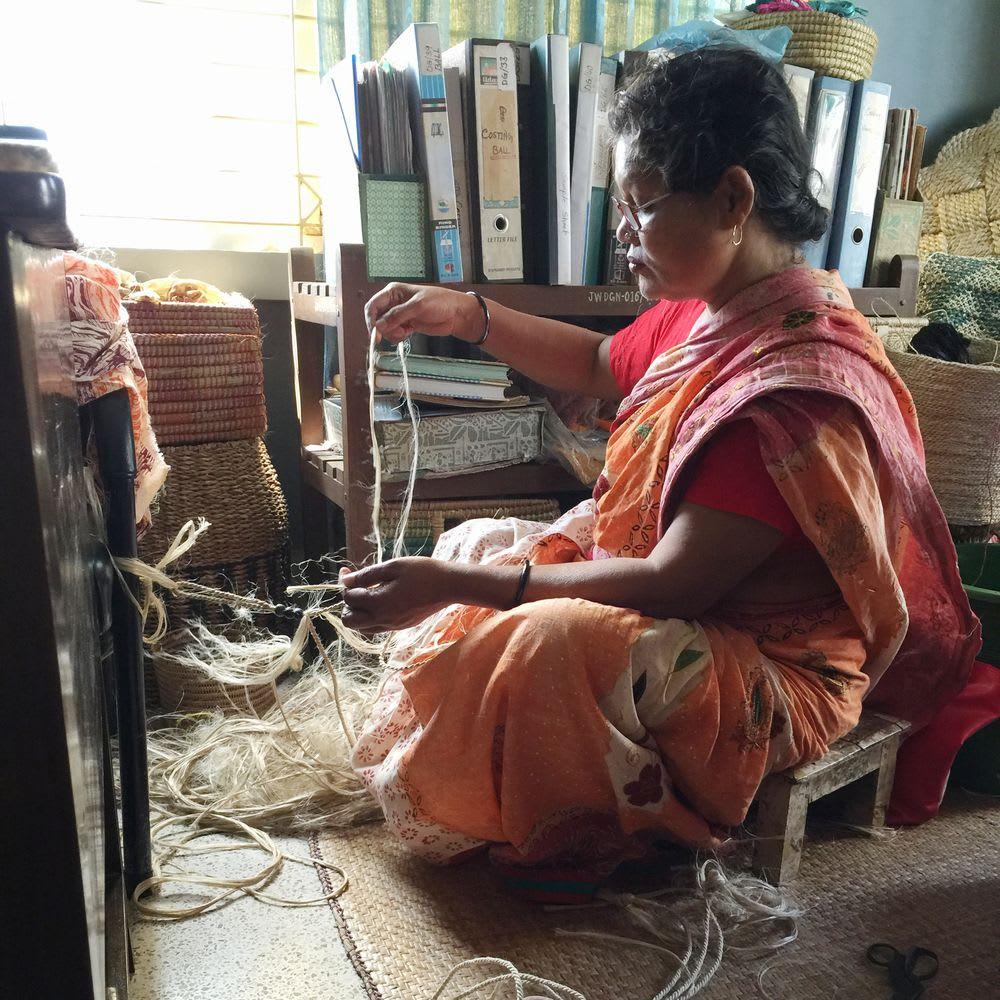 People Tree 蚊取り線香ホルダー 生産者:ジュートワークス(バングラデシュ)