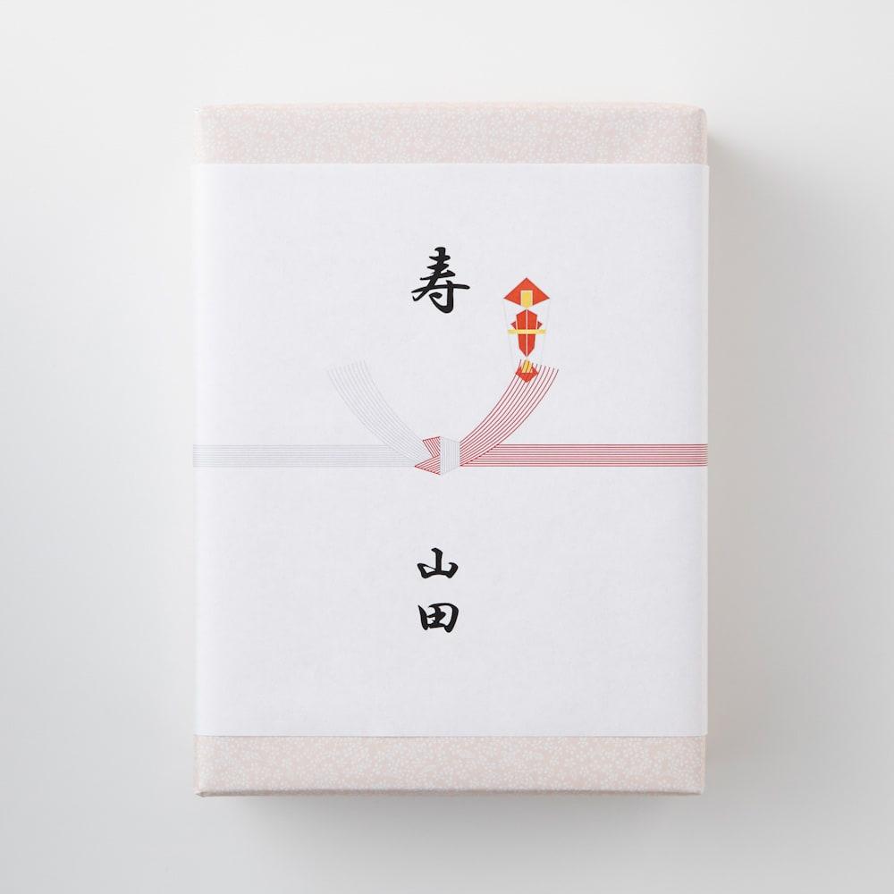 魚沼産こしひかり ギフト3個セット(選べるのしタイプ) <外のし付きの場合>包装紙でギフト梱包した上にのしを付け、茶紙梱包して配送いたします。