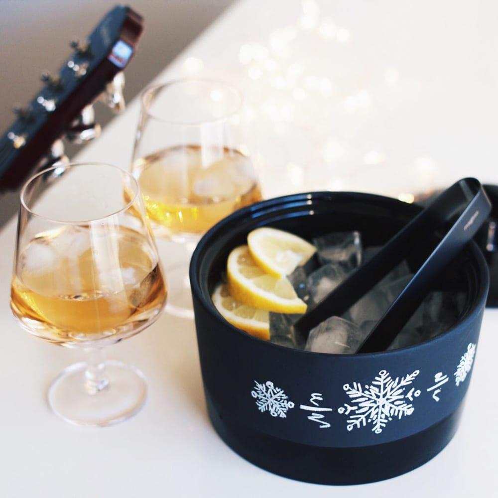 magisso/マギッソ ピノ・ワイングラス(2個組) 使用例 ※アイスペールは商品に含まれません。