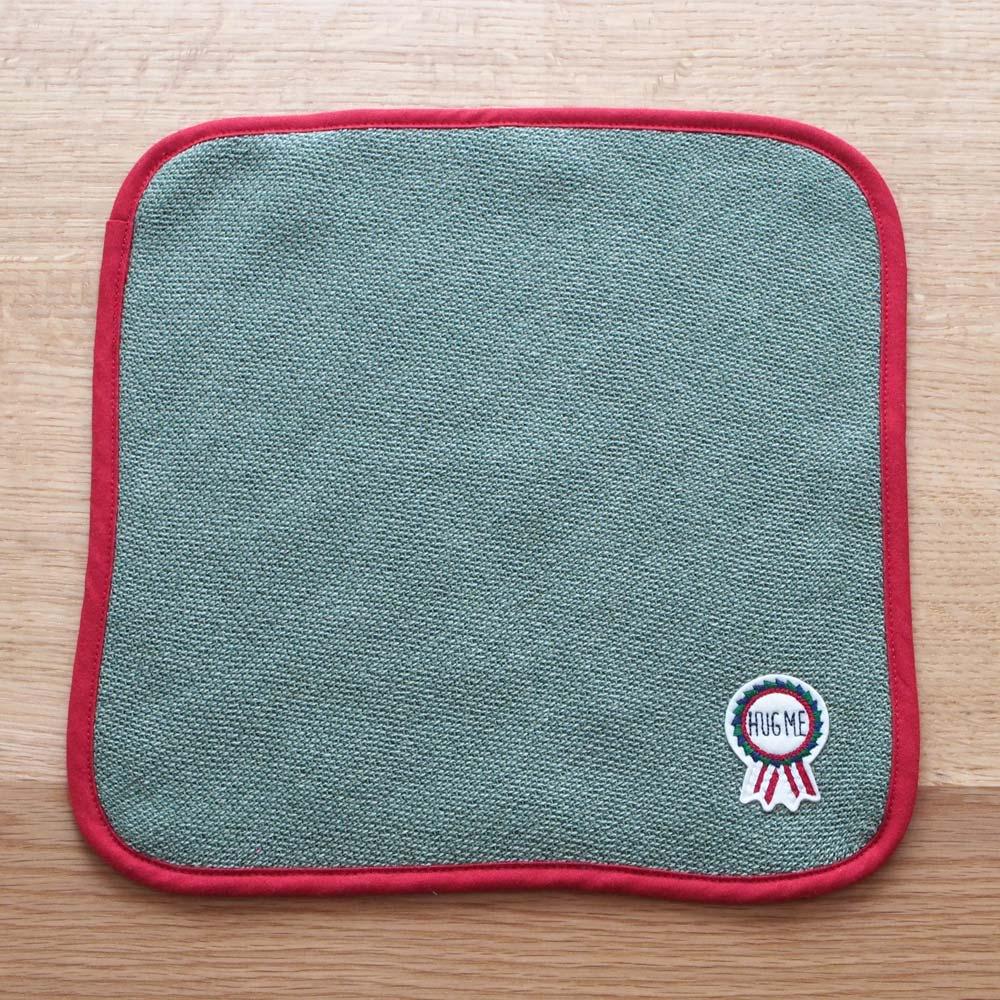 【今治産】ベビータオルギフトセット(ベビーロゼット)4点セット 正方形30cmのハンドタオル。お出かけに持っていきたくなる可愛さ。