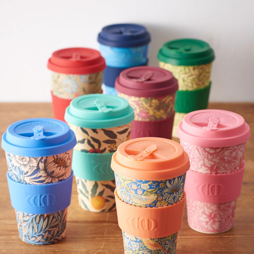 Ecoffee Cup/エコーヒーカップ 容量400ml ウィリアム・モリス柄 1個 全8柄