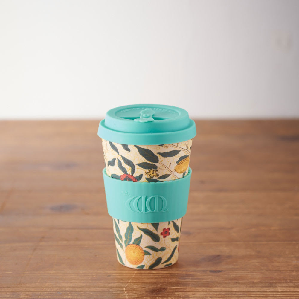 Ecoffee Cup/エコーヒーカップ 容量400ml ウィリアム・モリス柄 1個 (カ)Pomme