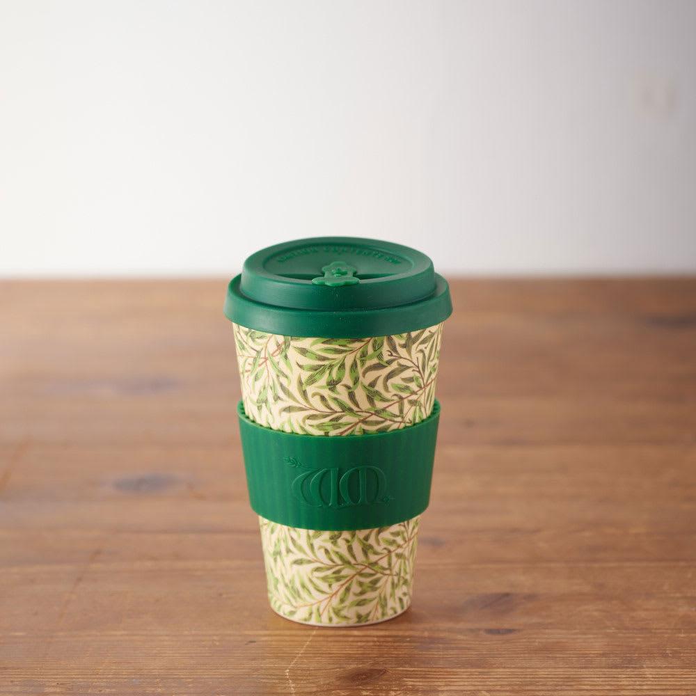 Ecoffee Cup/エコーヒーカップ 容量400ml ウィリアム・モリス柄 1個 (イ)Willow