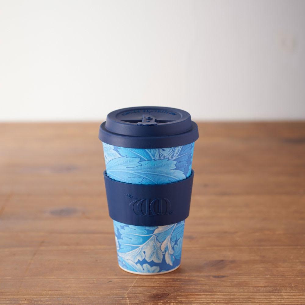 Ecoffee Cup/エコーヒーカップ 容量400ml ウィリアム・モリス柄 1個 (キ)Acanthus