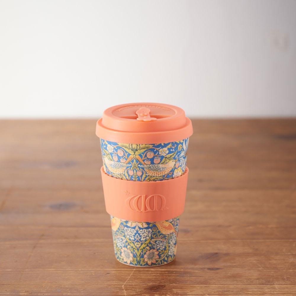 Ecoffee Cup/エコーヒーカップ 容量400ml ウィリアム・モリス柄 1個 (ク)Thief