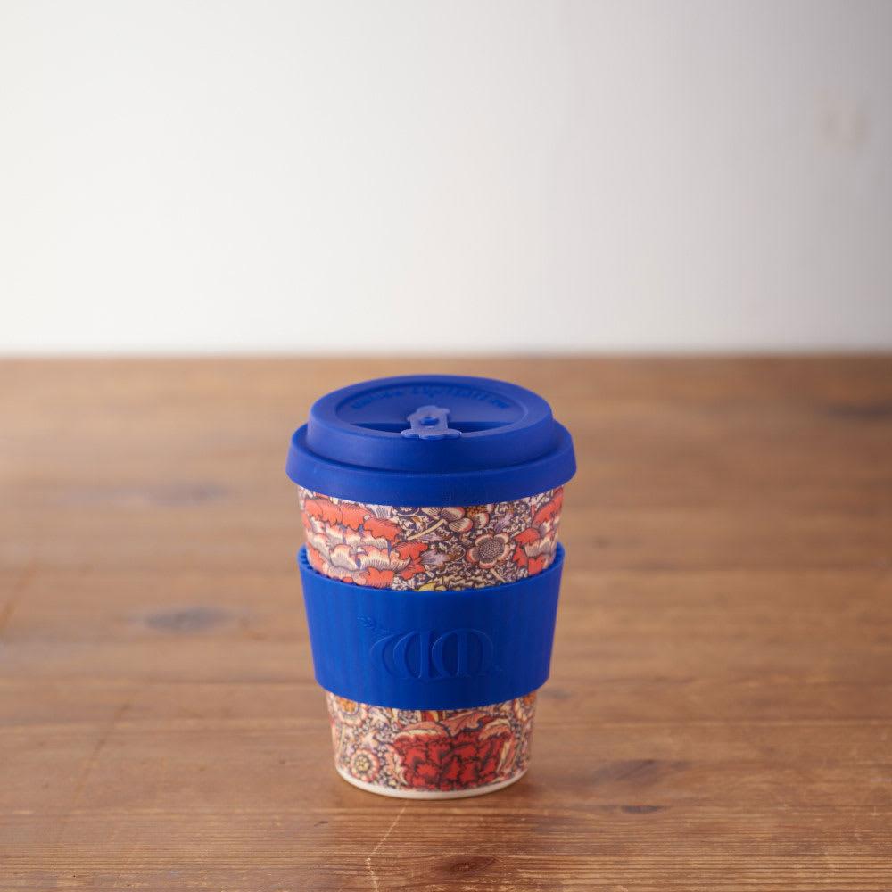 Ecoffee Cup/エコーヒーカップ 容量355ml ウィリアム・モリス柄 1個 (エ)Wandle