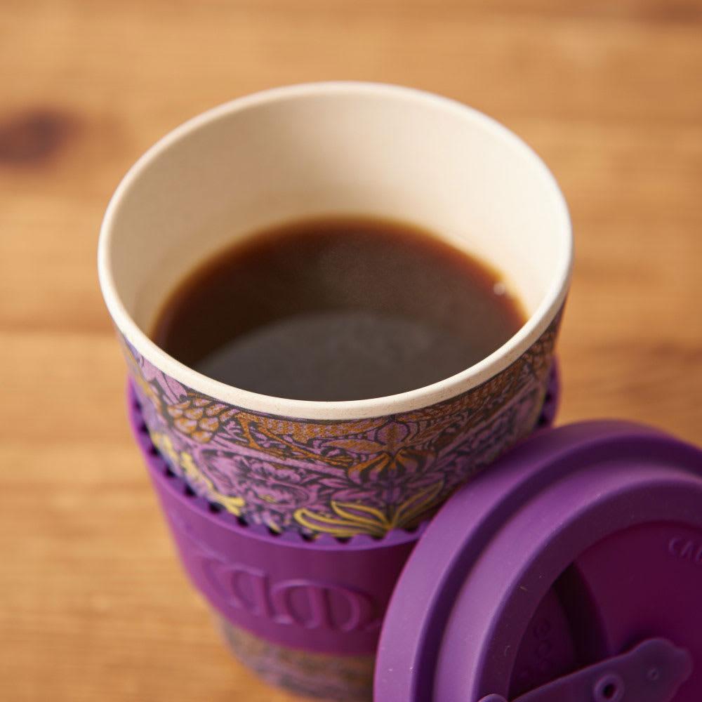 Ecoffee Cup/エコーヒーカップ 容量355ml ウィリアム・モリス柄 1個 (イ)Peacock