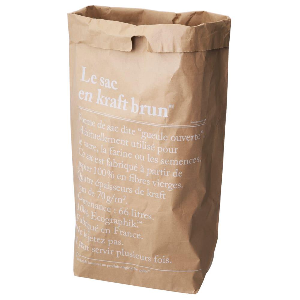 BE-POLES PAPER BAG(ビーポール/ペーパーバッグL) Lサイズ