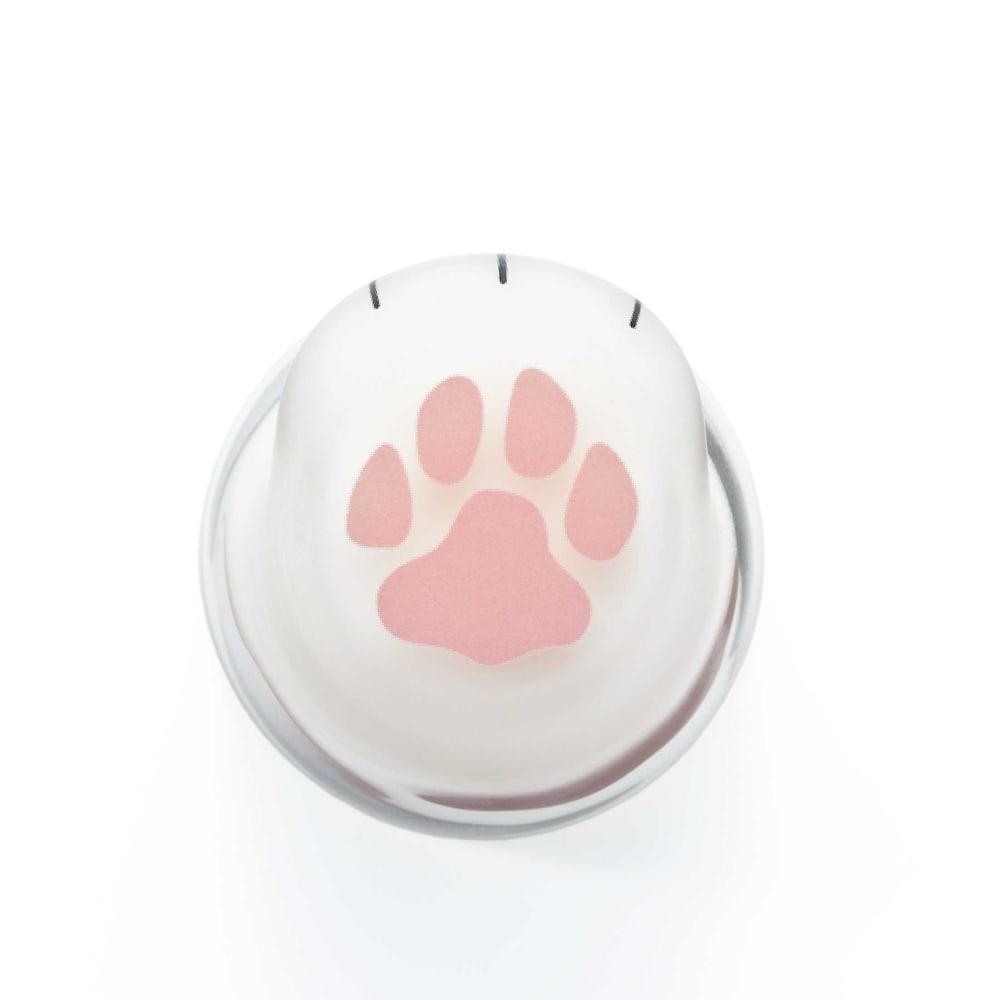 coconecoグラス(親猫) 底には可愛い肉球がプリント♪