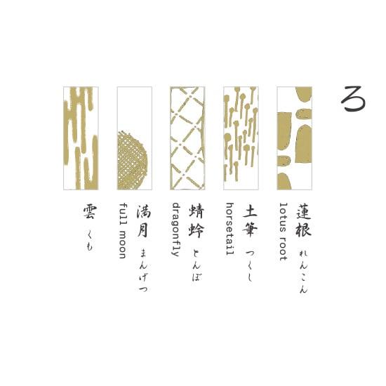 TOUMEI 箸置きセット 箔 (イ)ろ