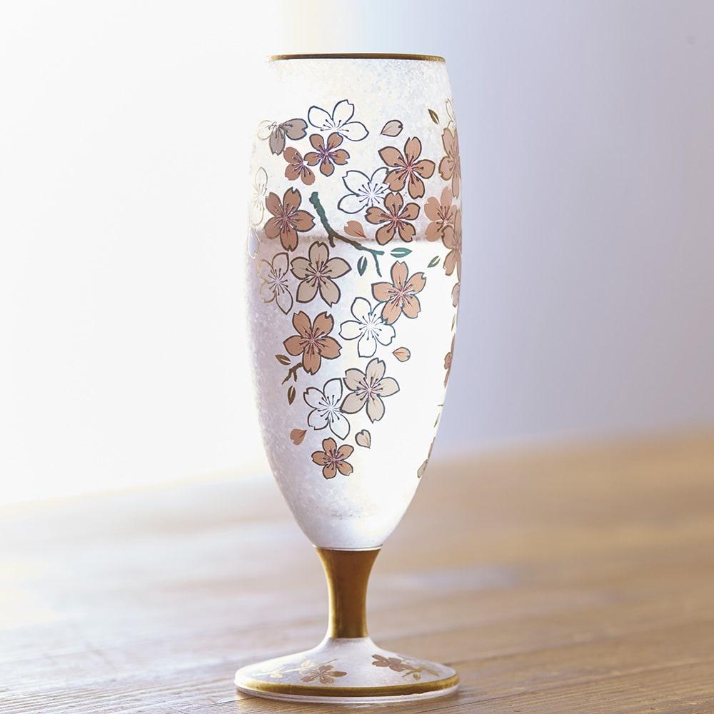 SAKURA 酒グラスペアセット