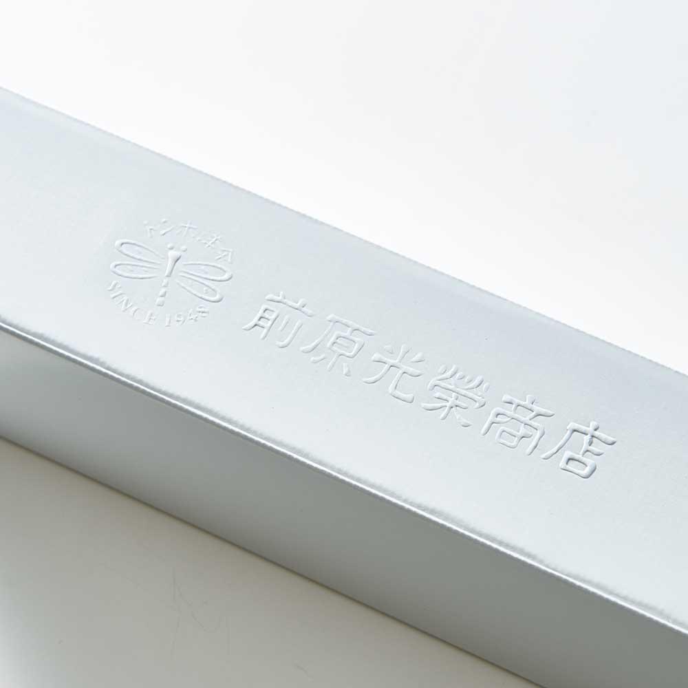 前原光榮商店 幾何学柄 折りたたみ傘 ロゴ入り化粧箱