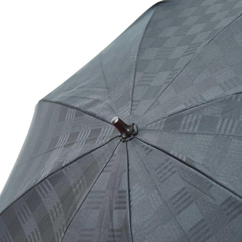 前原光榮商店 幾何学柄 折りたたみ傘 (イ)ブラック