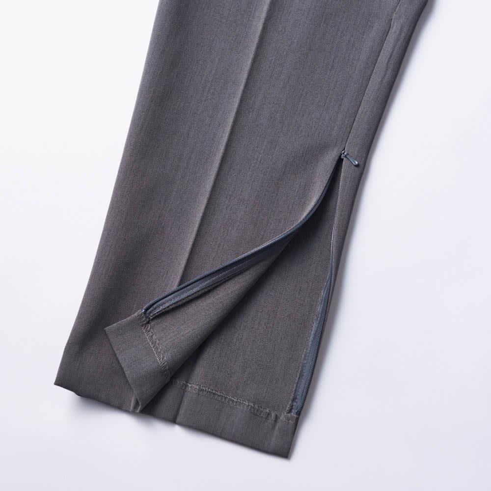 カインドケア/くつろ着パンツスタンダード婦人用3L 膝下部から裾部分にファスナー付き