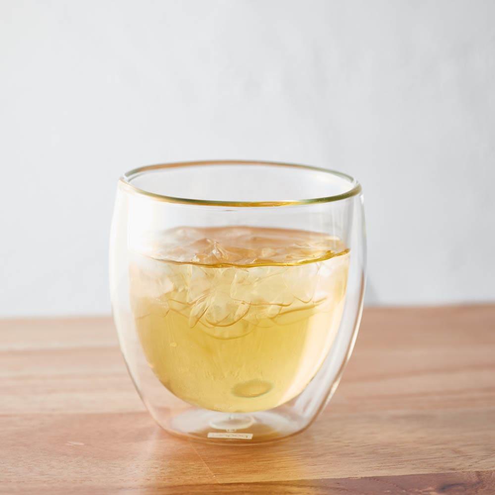 ボダム PAVINAダブルウォールグラス250ml(2個セット) 冷たい飲み物OK!