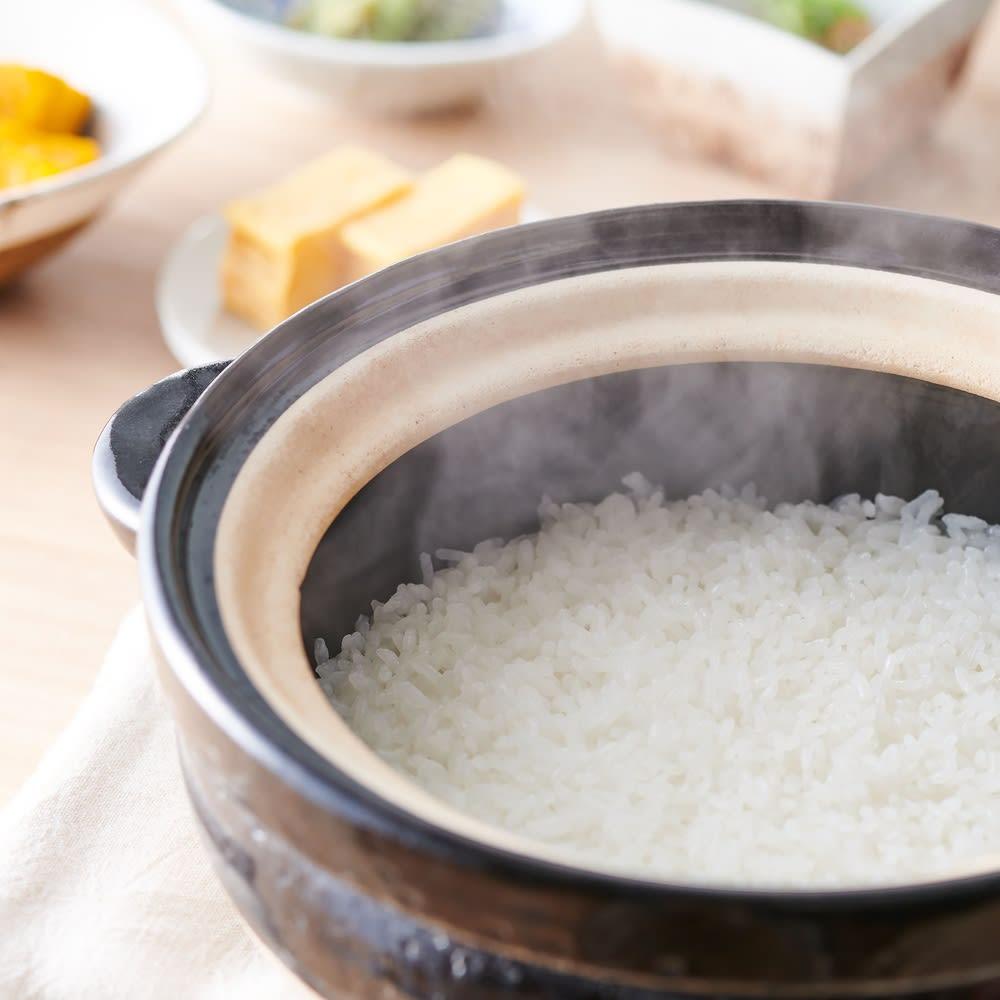 火加減いらずの長谷園かまどさん 1合炊き きのこの炊き込みご飯や鯛飯など主役になれるごちそうご飯もカンタンに炊けます