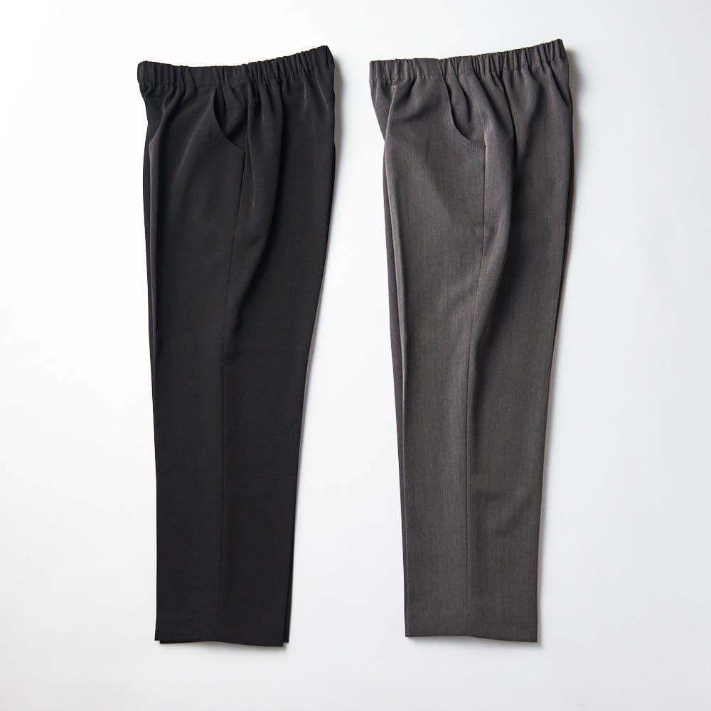 カインドケア/くつろ着パンツスタンダード 婦人用 ブラック、グレーの2色展開 写真はMサイズ