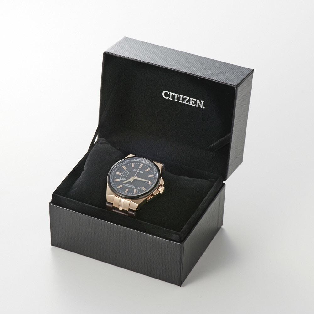 CITIZEN/シチズン 【メンズ】 エコ・ドライブ ワールドタイム電波時計 CB0164-17E