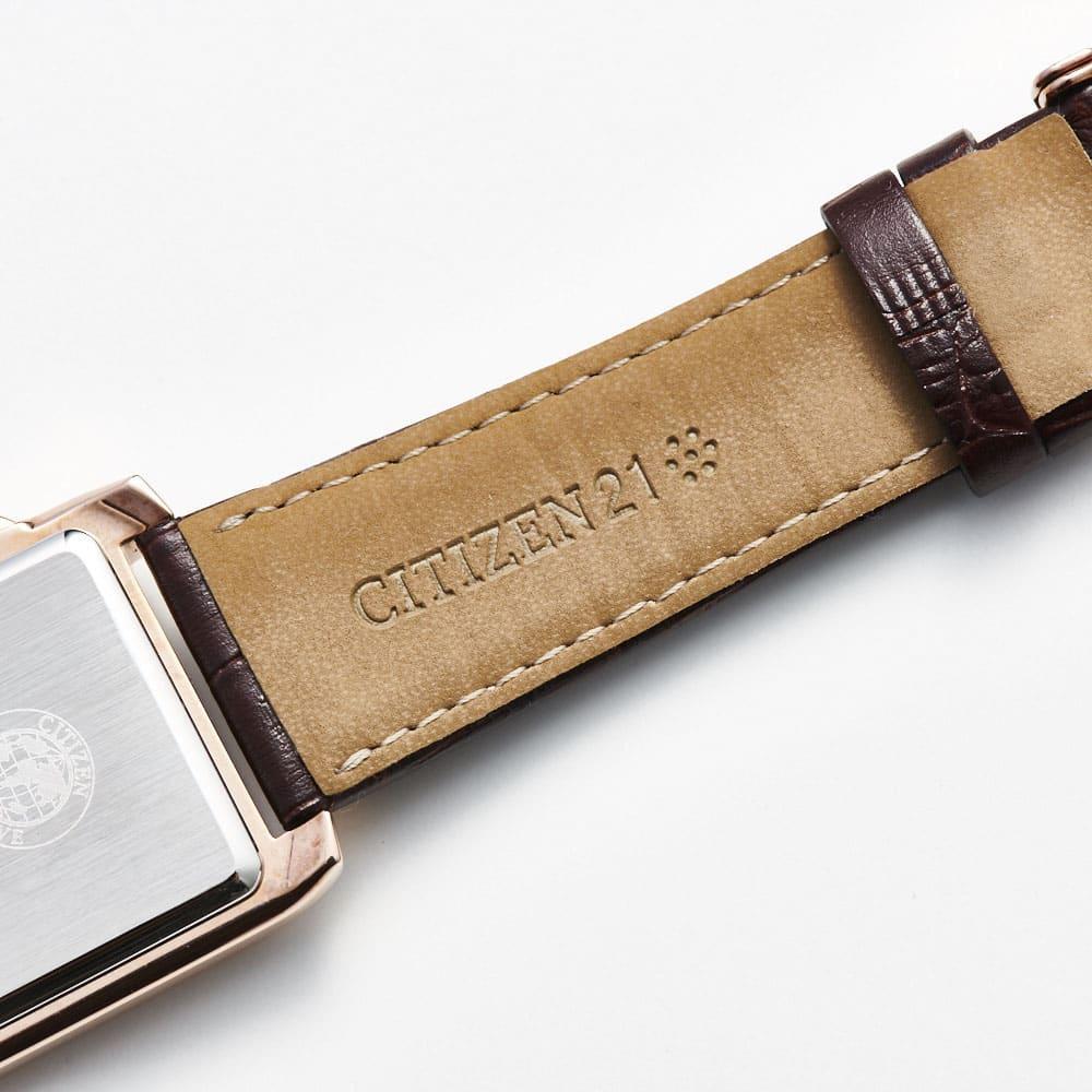 CITIZEN/シチズン 【メンズ】 エコ・ドライブ腕時計 AT0568-08X スクエア