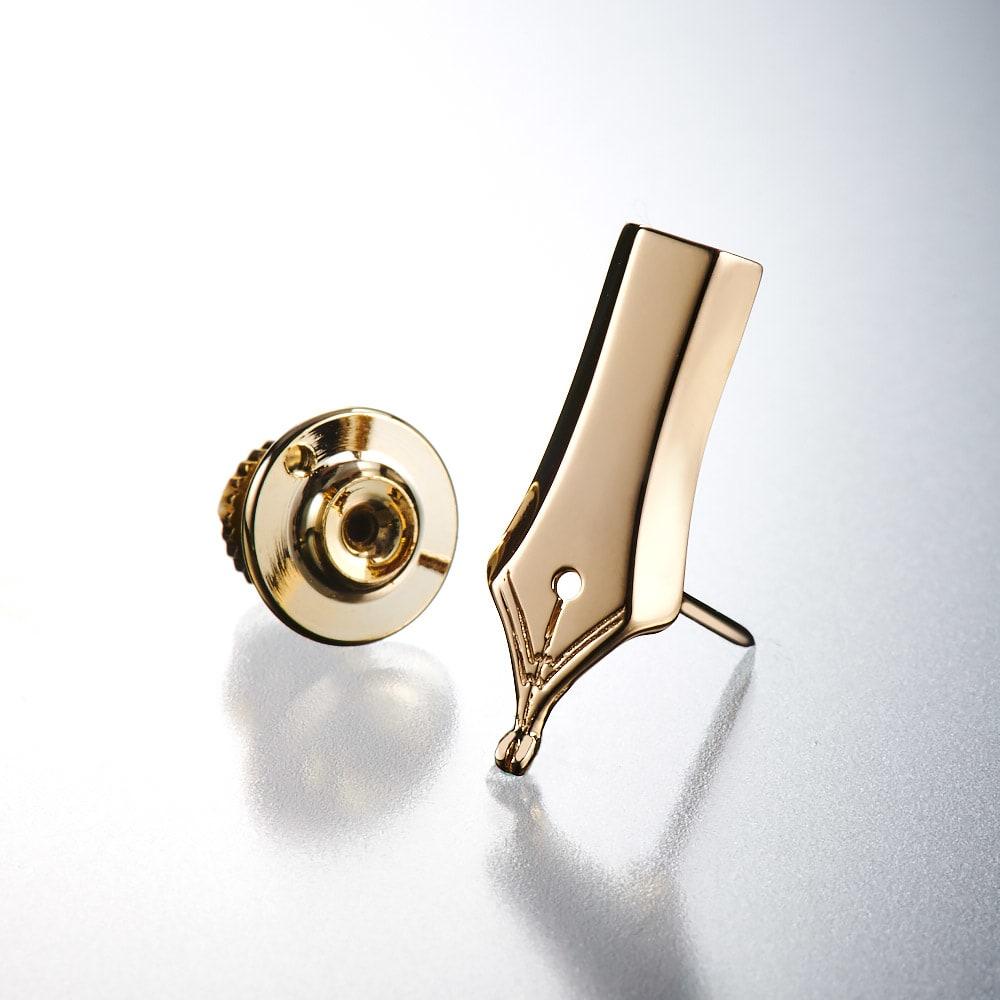 entiere/アンティエーレ SVピンブローチ 万年筆 (ア)ゴールド系