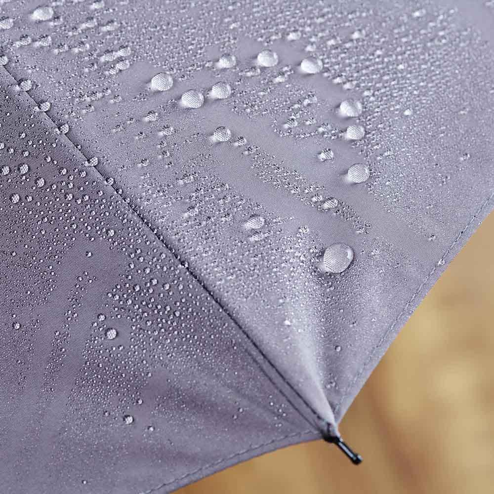[メンズ]小宮商店ミラトーレ折畳み傘 東レが開発した撥水性生地「ミラトーレ」を使用。軽量で水切れよく、また生地表面で雨の衝撃を吸収し雨音もソフトな印象。