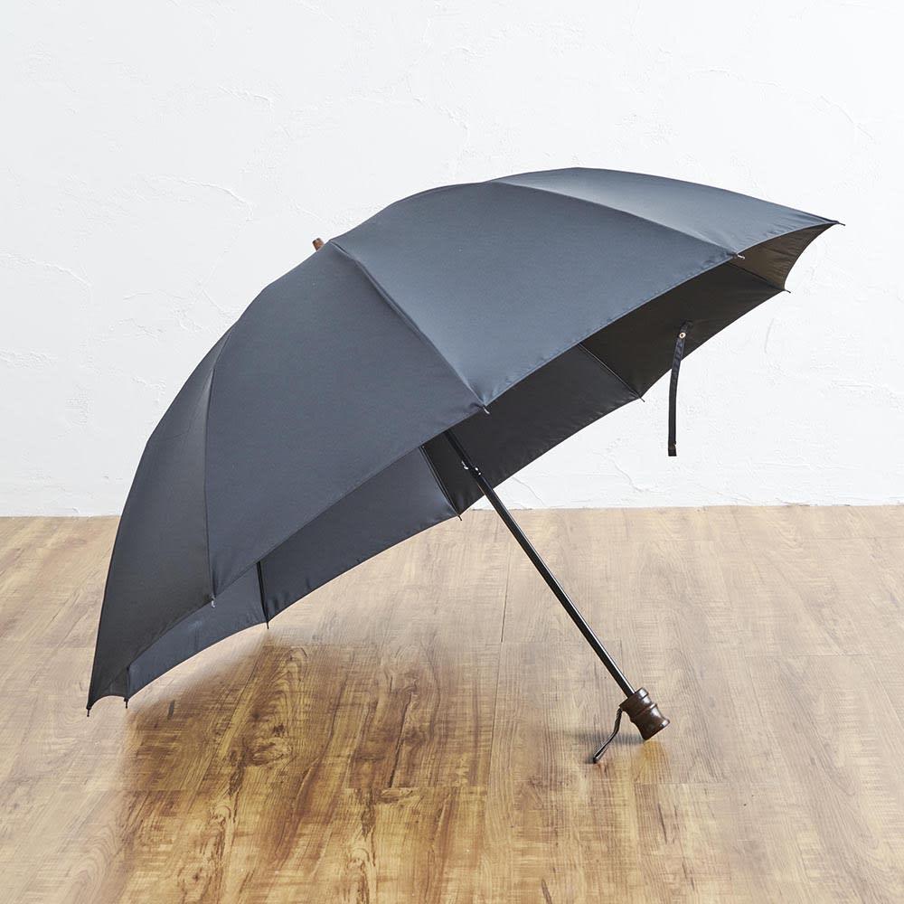 [メンズ]小宮商店ミラトーレ折畳み傘 (ア)ブラック