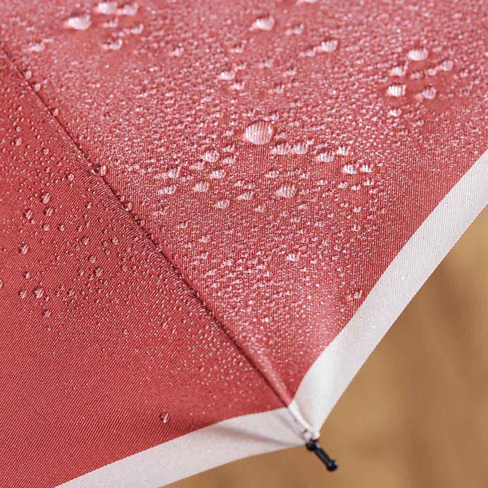 [レディース]小宮商店かさね折畳み傘(名入れ有) はっ水性もあり、UVカット率も99%以上。晴雨兼用OK。