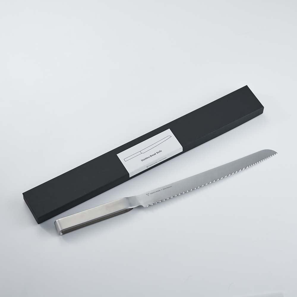 ヨシタ手工業デザイン室 パン切りナイフ パッケージもおしゃれでギフトにもおすすめです