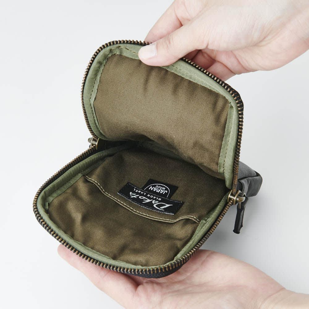 【メンズ】 Dakota/ダコタ 馬革ミニショルダーバッグ Inside 内部にオープンポケット1つ