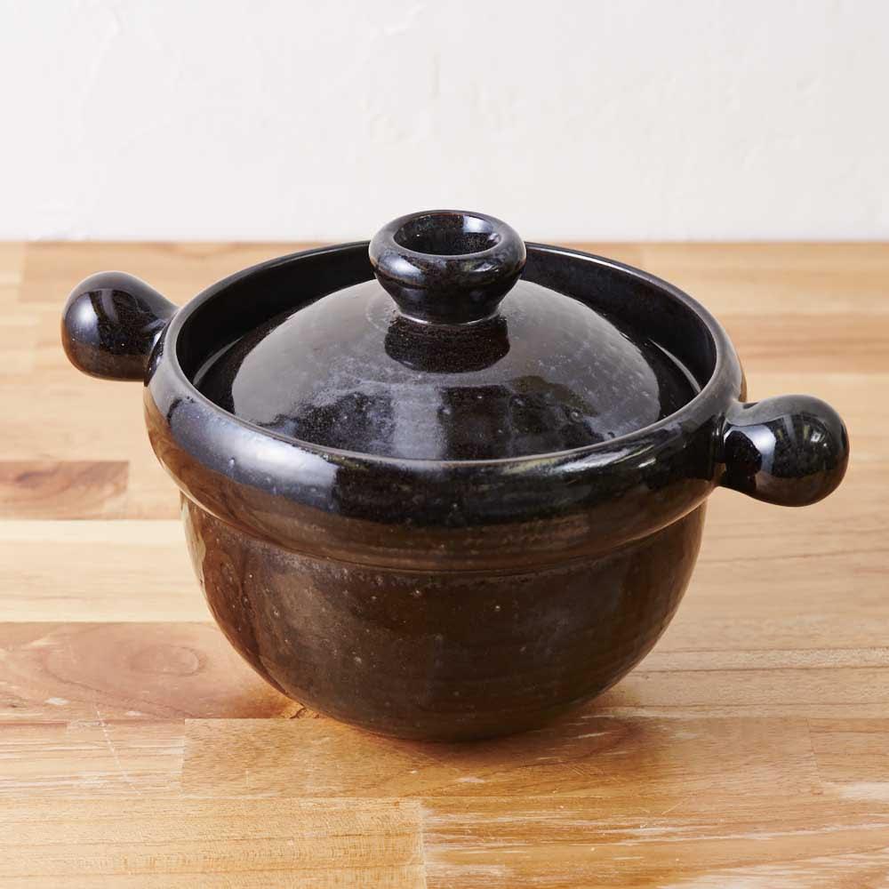 弥生陶園/萬古焼ごはん炊き土鍋 (4合炊き)